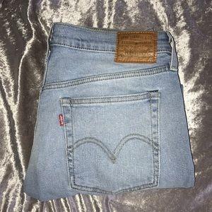 Levi Wedgie Fit Jeans